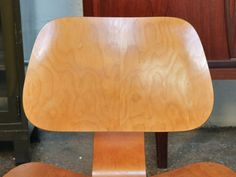 A sixty year old plus #Eames LCW still looks great, works great.  Service and performance, Eames hallmarks