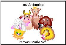 Los Animales:  Para cada animal hay actividades imprimibles, manualidades recortables, artes manuales, fichas educativas, dibujos para colorear, sugerencias de literatura infantil y recursos de educación preescolar.  Animals theme preschool activities and crafts for kids in Spanish.