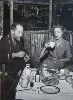 Breakfast with Bogie and Bacall