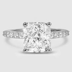 Platinum Petite Shared Prong Diamond Ring (1/4 ct. tw.)