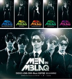 Performance :: alternative graphics - PROPAGANDA :: - Men in MBLAQ 콘서트