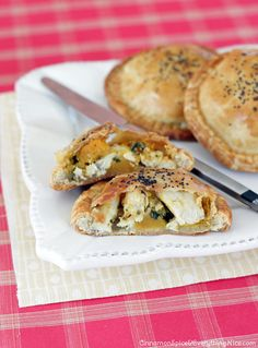 Chicken, Butternut & Swiss Cheese Pies