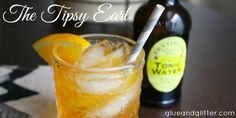 Tea Cocktail: The Tipsy Earl