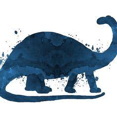 A brontosaurus