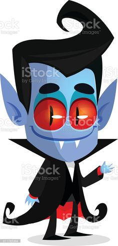 Cute cartoon vampire with red eyes. Vector illustration of dracula - Векторная графика Вампир роялти-фри Vampire Cartoon, Red Eyes, Dracula, Cute Cartoon, Hedgehog, Illustration, Fictional Characters, Bloodshot Eyes, Bram Stoker's Dracula