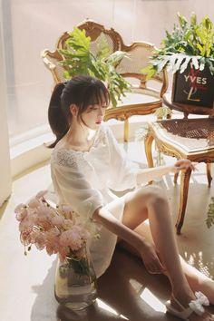 milkcocoa | calla white lace rose blouse