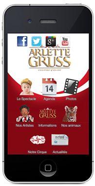 Découvrez les applications mobile du Cirque Gruss