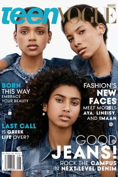 Teen Vogue Features 3 Naturals on its Cover
