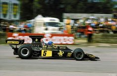 Ronnie Peterson (SWE) (John Player Special Team Lotus), Lotus 72E - Ford V8 Silverstone, 1975.