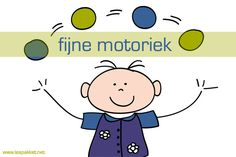 Hier staan alle berichten over fijne motoriek bij kleuters, met ideeën, oefeningen, activiteiten en achtergrondinformatie over de ontwikkeling. - Lespakket School Classroom, Fine Motor Skills, Smurfs, Activities For Kids, Kids Room, Homeschool, Projects To Try, Gym, Teaching