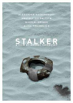Stalker (Andrei Tarkovsky, 1979) - poster by Daniel Keane