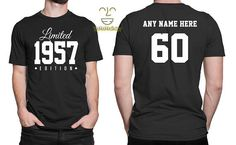 1957 Limited Edition 60th Birthday Party Shirt 60 years old