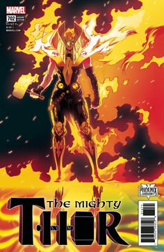 The Mighty Thor #702 (2017) Phoenix Variant Cover by Kris Anka