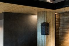 Interior signage designed by UMA for U2's Onomichi based Hotel Cycle