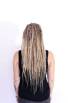 Permanent 40 real human hair dreadlocks extensions by ravinglocks she came to me for the first time last summer to get dreadlocks done her dreads are dreadlocks on her own hair and human hair extensions pmusecretfo Image collections
