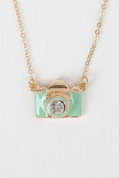 Vintage Camera Necklace $8.40