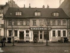 Chausseestraße 37 im Jahr 1913