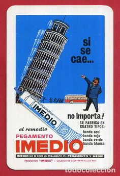 CALENDARIO FOURNIER , PUBLICIDAD PEGAMENTO IMEDIO , 1970 , ORIGINAL , CAL9330