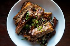 Chinese Style Honey Hoisin Sticky Ribs, a recipe on Food52