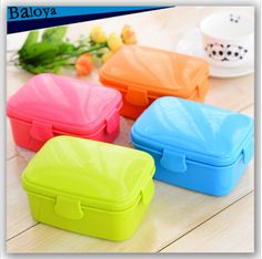 Cheap 2015 New  plastic Lunch Box Bento Box food container for food carton for kid microwave cutlery set 700ml, Compro Calidad Sets Vajilla directamente de los surtidores de China: 1050ml plastic Lunch Box Bento Box food container carton lancheira Dinnerware cutlery for kid  japanese food box free sh