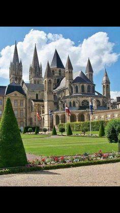 Caen, France!