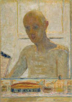 Pierre Bonnard, Autoportrait dans la glace du cabinet de toilette, 1939-1945. Paris, Centre Pompidou.
