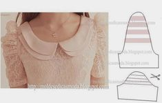 Fashion Templates for Measure Clothing Patterns, Dress Patterns, Sewing Patterns, Sleeve Designs, Blouse Designs, Sewing Clothes, Diy Clothes, Diy Fashion, Fashion Outfits