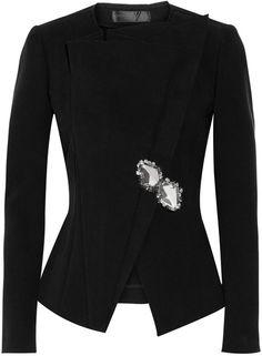 Donna Karan Stretchtwill Jacket - Lyst