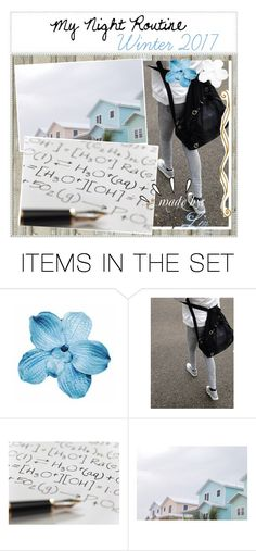 """☆;; My Night Routine: Winter 2017"" by liv-on-polyvore ❤ liked on Polyvore featuring art"