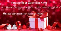 Du 31 janvier au 13 février  — Pour la St Valentin , bénéficiez d'une remise exceptionnelle de 10% exclusivement sur le site .  Bon plan mitabaya :  si vous likez notre page Facebook la livraison est offerte en plus de votre remise  Https://www.facebook.com/mitabaya