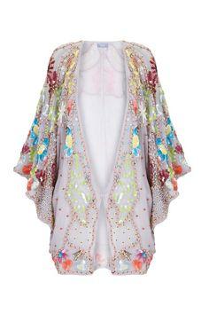 Kimono bordado de Hoss Intropia