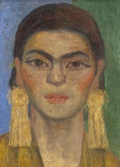 Diego Rivera,Portrait of Frida Kahlo, c.1939 © 2007 Banco de México Diego Rivera & Frida Kahlo Museums Trust. Reproduction of Diego Rivera governed by Instituto Nacional de Bellas Artes y Literatura.