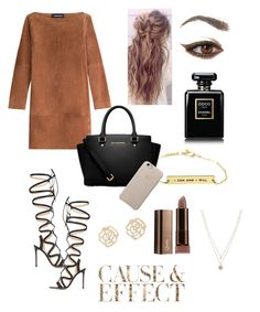 """""""Untitled #118"""" by naiara-yordanov ❤ liked on Polyvore featuring Vanessa Seward, Chanel, Gianvito Rossi, MICHAEL Michael Kors, Envi, Charlotte Russe and LC Lauren Conrad"""