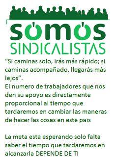 Con tu apoyo conseguiremos que los españoles te llamen Sindicalista cuando quieran hacerte un cumplido hagamos que esta palabra sea sinónimo de trabajo compromiso y manos limpias