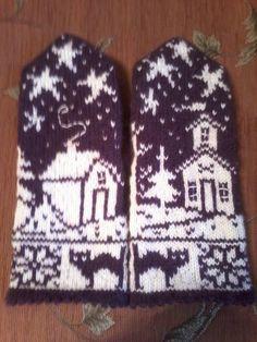 Knit Mittens, Mitten Gloves, Knitting Socks, Knit Socks, Double Knitting Patterns, Knitting Projects, Knitting Ideas, Knit Crochet, Projects To Try
