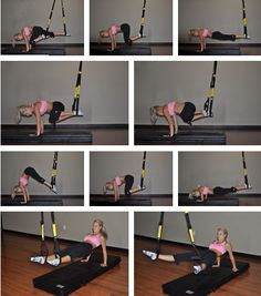 TRX Core exercises