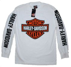 Amazon.com: House of Harley Men's Bar & Shield Logo T-Shirt-LIMITED EDITION. All Cotton. Harley-Davidson Graphics. White. 302900320: Clothing