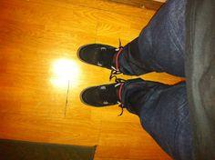 Jordan 4s x A.P.C. Denim