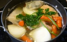 I make a lot of fish broths. If we look to nature as a guide; eagles, seagulls, seals, bears and foxes eat the parts of the fish that are rich in collagen first, and they eat the fillet, which is l…