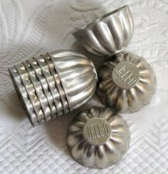 Vintage jello molds! #love