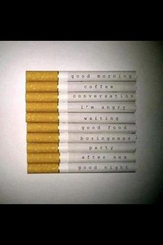 all Cigarettes are safe. They contain no poisons or dangerous chemicals