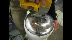 how to build a propane tank drum