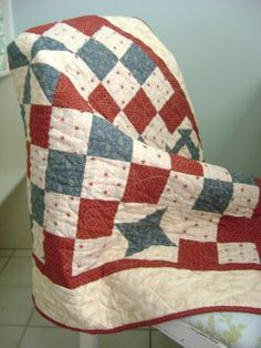 Baby boy quilt-love these quilts