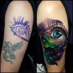 75 Universe Tattoo Designs For Men & Matter And Space > > 75 Universe Tattoo Designs For Men – Matter And Universe Tattoo Designs For Men – Matter And SpaceA tattoo of the universe is Tattoo Fixes, Faded Tattoo, Cover Tattoo, Piercing Tattoo, Piercings, Best Cover Up Tattoos, Sketch Tattoo, Tatuajes Tattoos, Bad Tattoos
