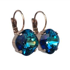 A personal favorite from my Etsy shop https://www.etsy.com/listing/516799989/bermuda-blue-cushion-cut-crystal