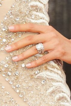 Love the nails. (Well, the ring too!)