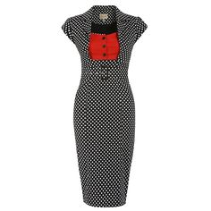 Šaty Lindy Bop Wynona Black Polka Retro šaty ve stylu 50. let. Pokud chcete 61162ea2fb