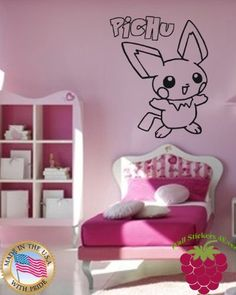 Wall Stickers Vinyl Decal Nursery Pichu Pokemons Anime Children ig1099 by WallStickers4ever, http://www.amazon.com/dp/B00E5AIC7Y/ref=cm_sw_r_pi_dp_4Y8usb1E2K077