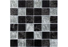 The Hong Kong Silver Mix Square Glass Mosaic is a foil backed mosaic with a mixture of Black, Silver and grey colours which come together to create a truly modern metallic looking mosaic ideal for use in Bathrooms and Kitchens. Just £9.00 per sheet