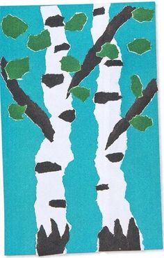 Tree Art Projects For Kids Spring 69 New Ideas Easy Art Projects, School Art Projects, Craft Projects For Kids, School Craft, Craft Ideas, Spring Art, Summer Art, Spring Crafts, Kindergarten Art